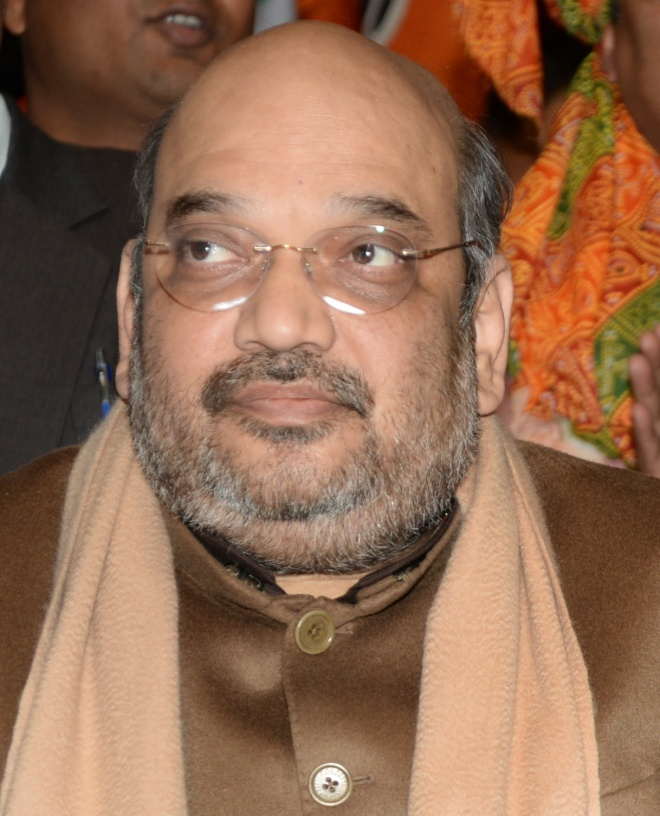 Amit Shah (Source: Wiki Commons)