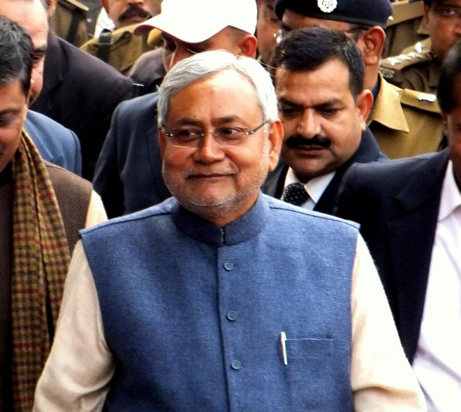 Nitish Kumar (Image Source: Wiki Commons)