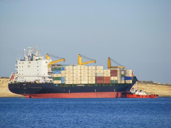 Iran Export Ship (Image Source: Flickr)