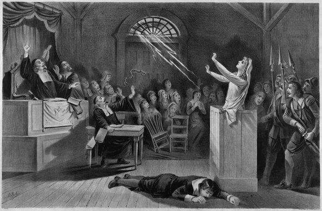 Salem Witch Trials (Image Source: WIki Commons)